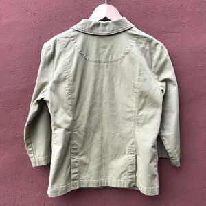 Eileen Fisher casual blazer organic cotton jacket